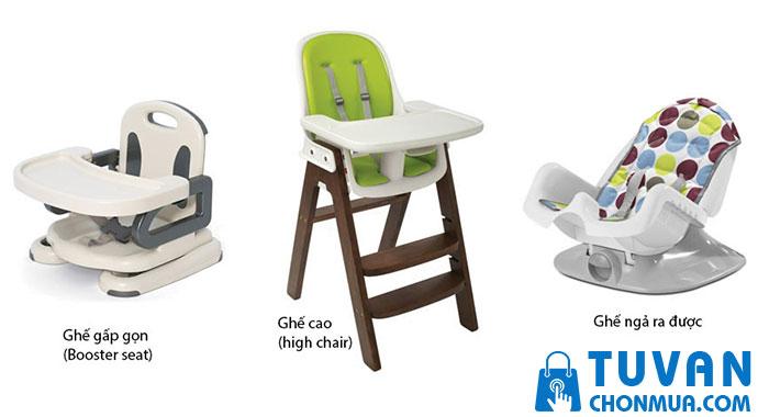 thiết kế ghế ăn dặm