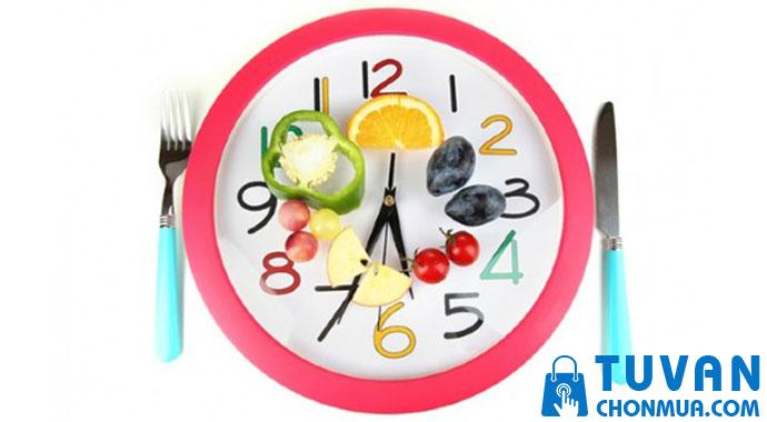 Thời gian cho bữa ăn của trẻ