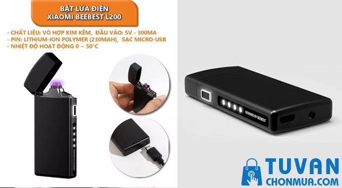 Bật lửa điện Xiaomi Beebest L200