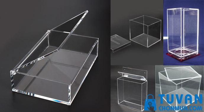 cách chọn thùng hộp mica