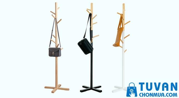 Cây treo quần áo gỗ thông minh