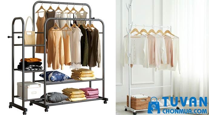 chất liệu làm giá treo quần áo