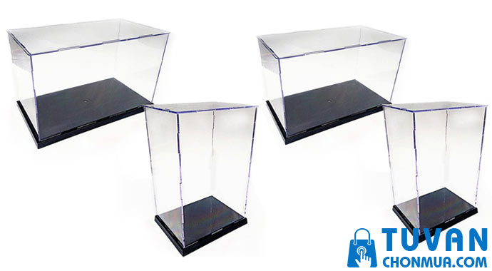 hộp mica trưng bày mô hình