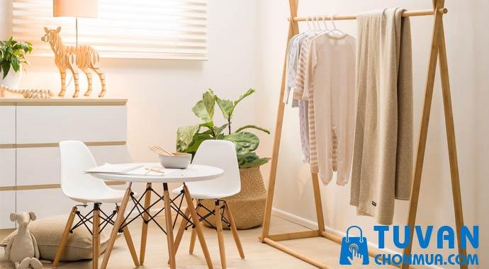 hướng dẫn chọn giá treo quần áo
