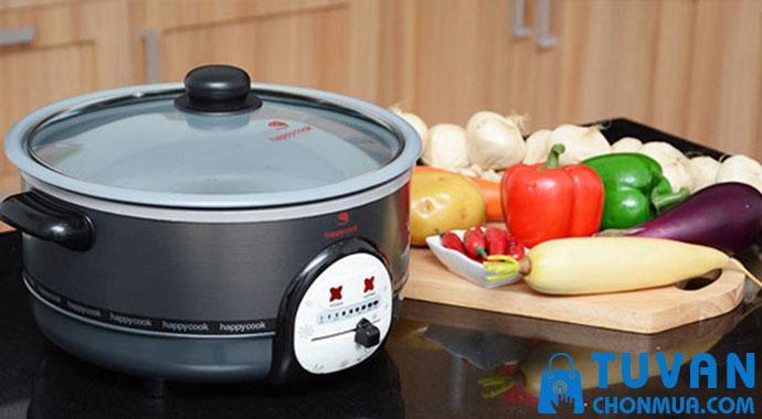 Nồi lẩu điện Happy Cook HCHP-300A