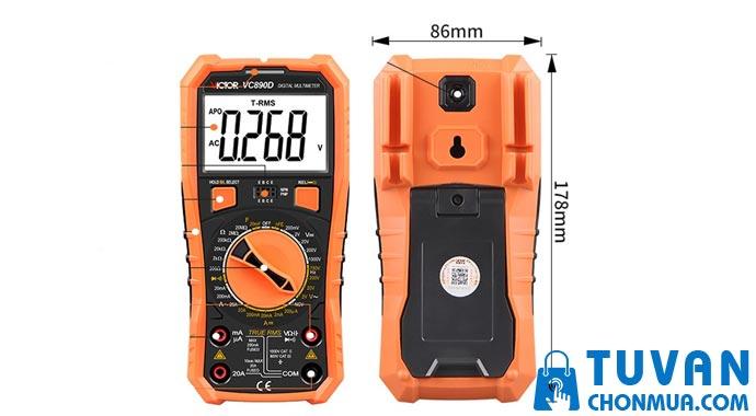 Đồng hồ đo điện Victor VC890D