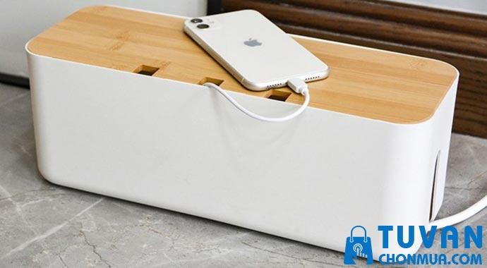 Hộp nhựa abs đựng ổ cắm điện