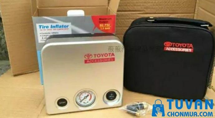 Máy bơm lốp ô tô Toyota