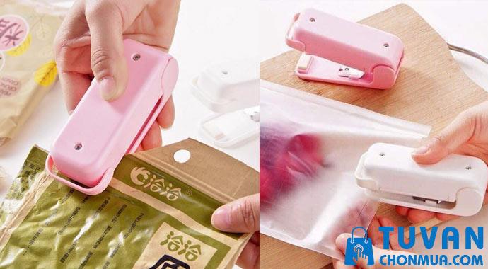 Máy hàn miệng túi mini nhật bản