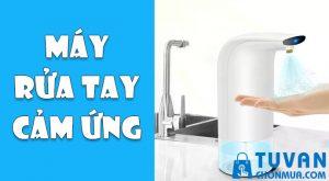 máy rửa tay cấm ứng