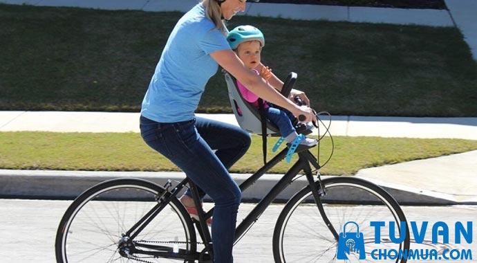 cách chọn ghế xe đạp cho bé