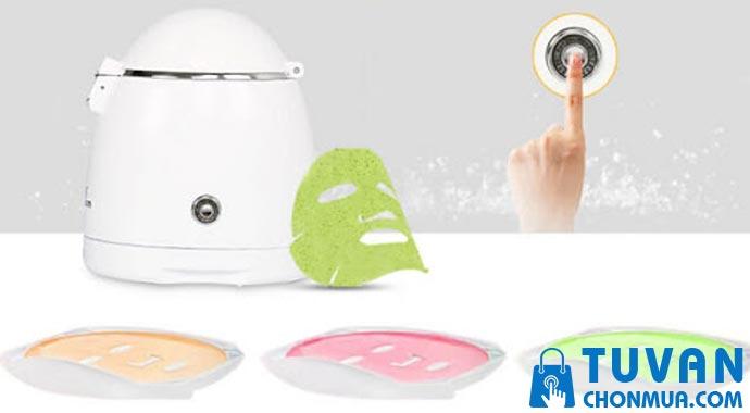 Cách sử dụng máy làm mặt nạ đắp mặt