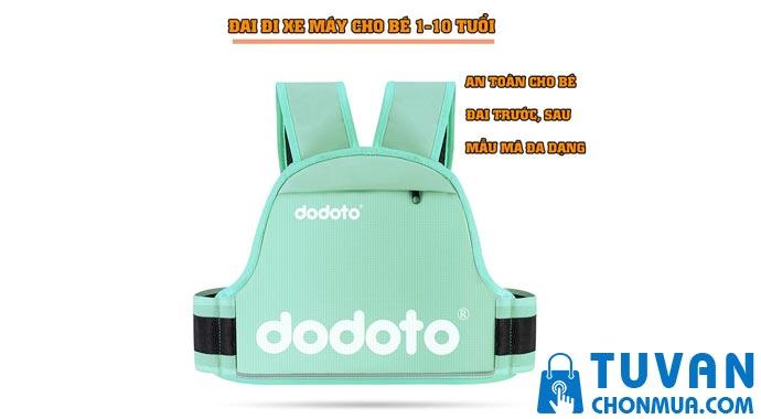 Đai đi xe máy cho bé 1-10 tuổi Dodoto