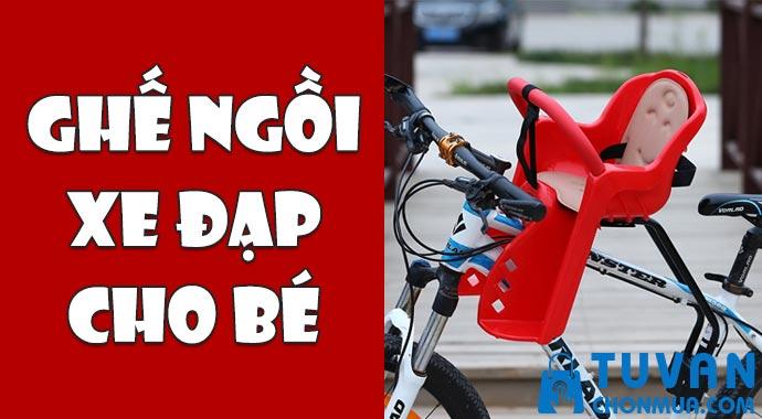 ghế ngồi xe đạp cho bé