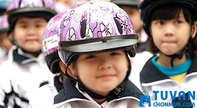 mũ bảo hiểm trẻ em chính hãng