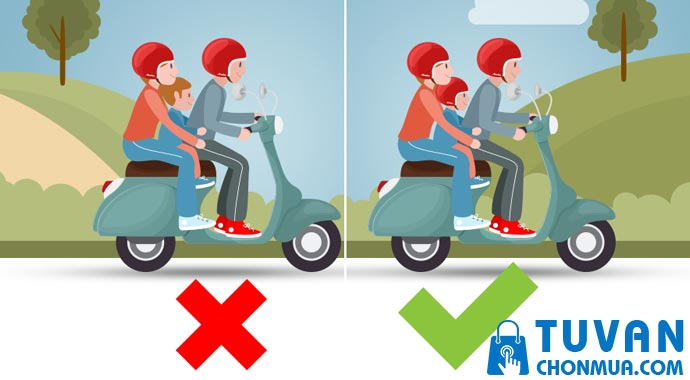 tại sao phải đổi mũ bảo hiểm cho trẻ em