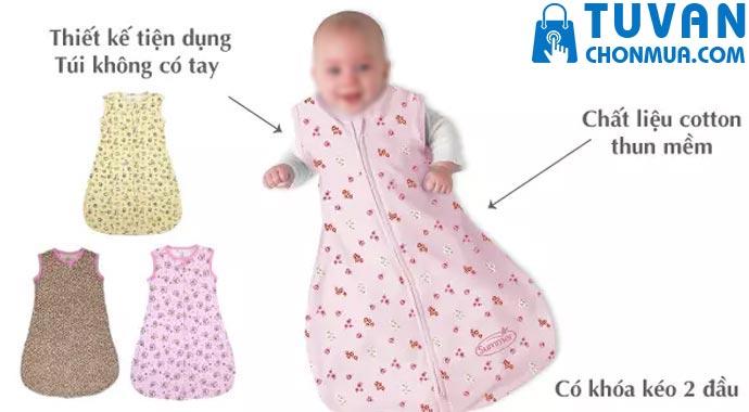 kinh nghiệm chọn túi ngủ cho bé