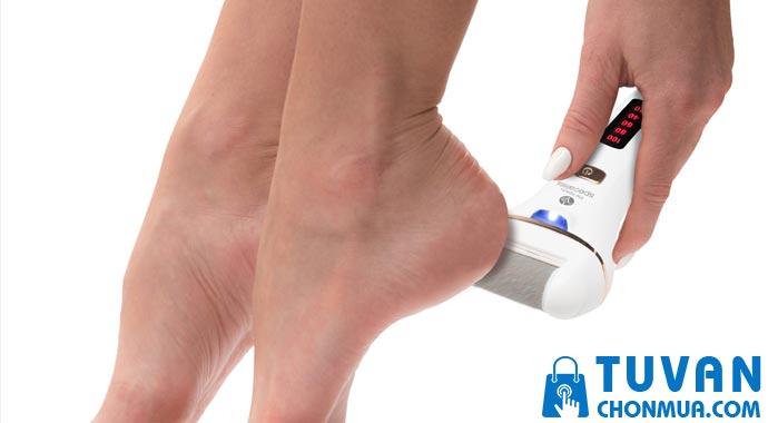 Lưu ý khi sử dụng máy mài gót chân