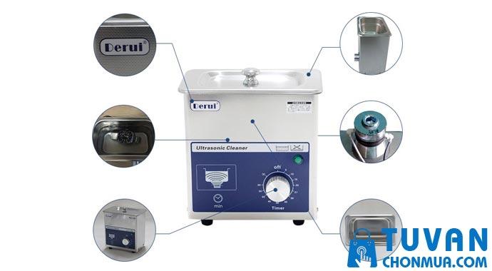 Máy rửa sóng siêu âm DERUI - MS07