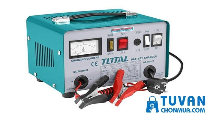 Máy sạc bình ắc quy TOTAL TBC1601