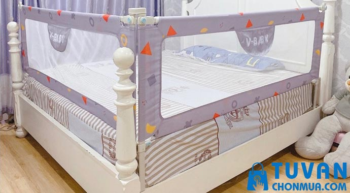 Quây giường cho bé V-Baby