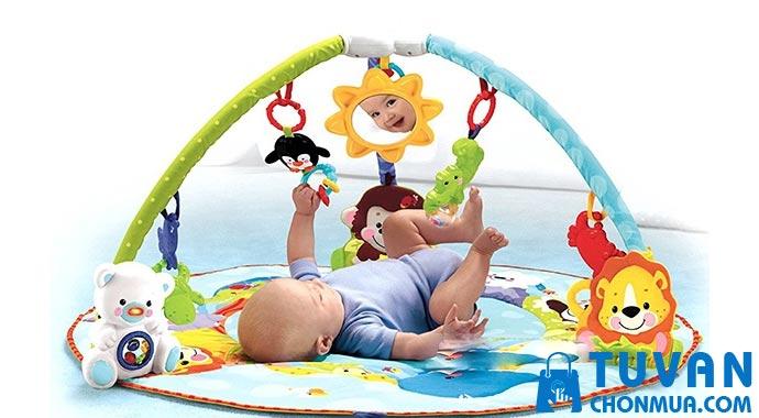 sử dụng thảm đàn cho bé thế nào