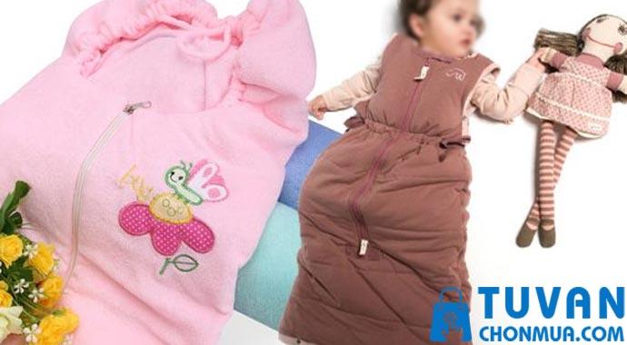 tác dụng túi ngủ cho bé