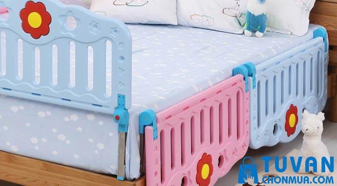 Thanh chắn giường bằng nhựa