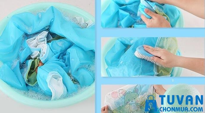 vệ sinh vải lưới thanh chắn giường