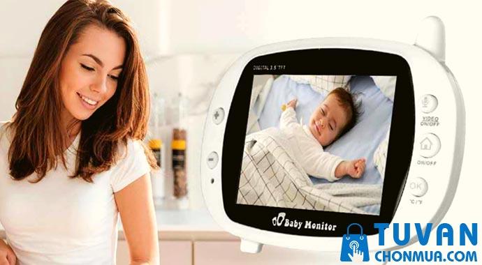Cách sử dụng máy báo trẻ khóc