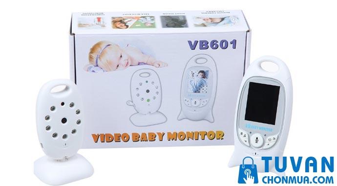 Máy báo trẻ khóc LCD VB601